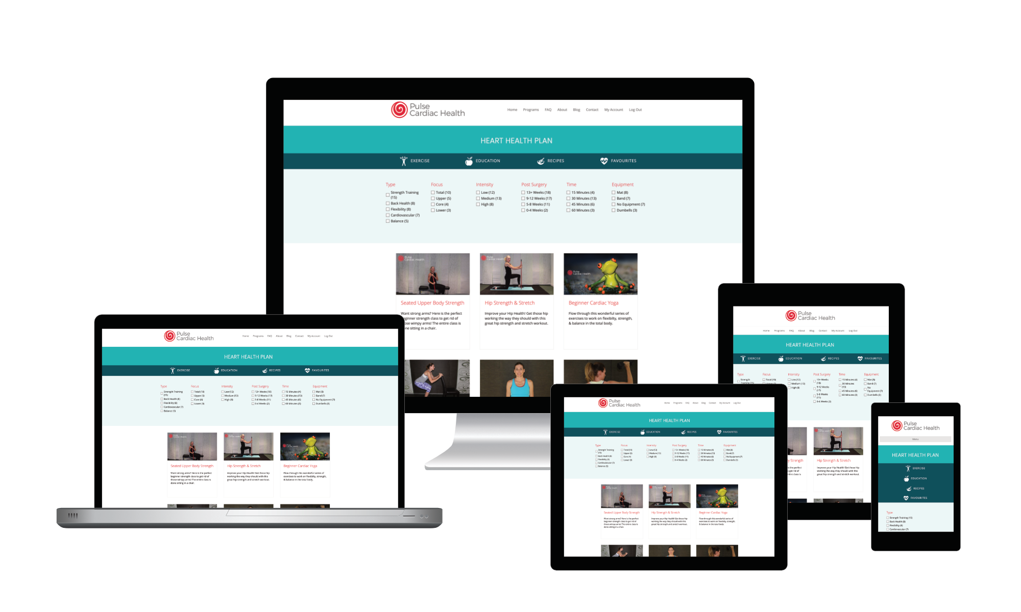Online Cardiac Rehabilitation Clinic